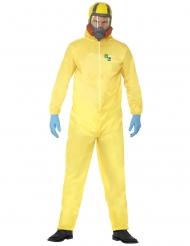 Breaking Bad Heisenberg Kostüm Lizenzware gelb