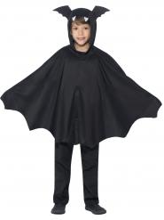 Süsse Fledermaus Halloween Kinderkostüm schwarz