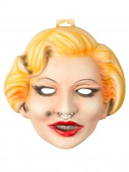 Filmstar Maske Hollywood Diva bunt