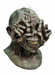 Augapfel-Monster Halloween Latex-Maske Zombie grau