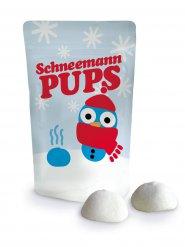 Schneemann Pups Marshmallows Geschenkartikel bunt 20g