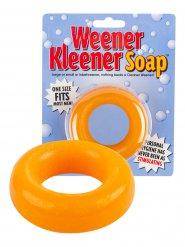 Frivoler Penis-Seifen-Ring Scherzartikel orange 7,5x2cm