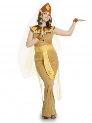 Cleopatra Kostüm ägypterin beige-bunt