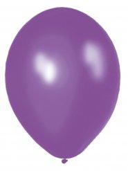 Metallic Luftballons Ballons Party-Deko 10 Stück violett 30cm