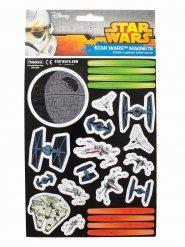 Star Wars Magneten-Set Raumschiffe Lizenzartikel 23-teilig bunt