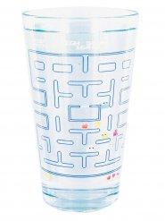 Pac Man Glas mit Farbwechsel Lizenzartikel transparent-bunt 500ml