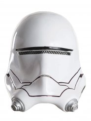 Star Wars Flametrooper Kinder-Halbmaske Lizenzartikel Helm weiss-schwarz