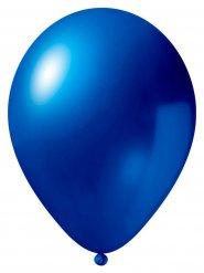 Metallic Luftballon-Set 12 Stück Ballons Party-Deko dunkelblau 33cm