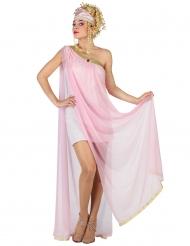 Sexy Römerin Damenkostüm Griechin rosa