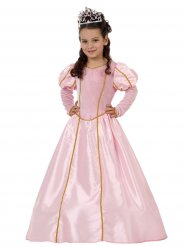 Bezaubernde Prinzessin Kinderkostüm Königin rosa