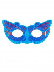 Leuchtende Maske Superheld mit Leuchtstäben bunt
