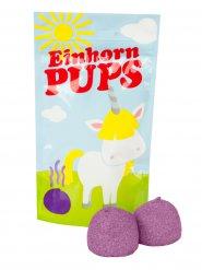 Einhorn Pups Schaumzucker Speckbälle lila 20g