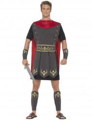 Gladiator Kostüm Antike Krieger schwarz-rot