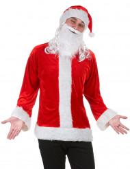 Weihnachtsmann Verkleidungs-Set Nikolaus 3-teilig rot-weiss