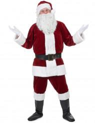 Weihnachtsmann Herrenkostüm Nikolaus rot-weiss