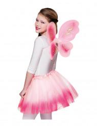 Schmetterlings-Kostüm für Mädchen, rosa