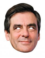 Francois Fillon Maske für Erwachsene schwarz-hautfarben