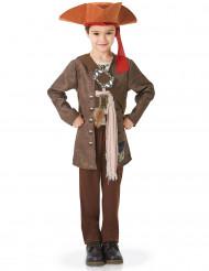 Deluxe Jack Sparrow™ Piraten-Kinderkostüm für Jungen Fluch der Karibik Lizenzartikel braun