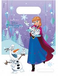 Disney™ Frozen - Die Eiskönigin™ Geschenktüten Lizenzware 6 Stück bunt 16,5x23cm