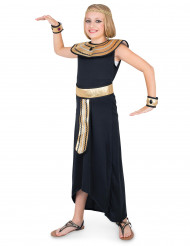 Ägypterin-Kinderkostüm Antike-Kostüm schwarz-gold