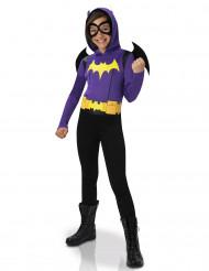 Batgirl™ Kinderkostüm für Mädchen Superhero Girls™ Lizenzartikel lila-schwarz-gelb