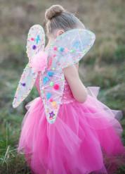 Schmetterlingsflügel Fee für Mädchen