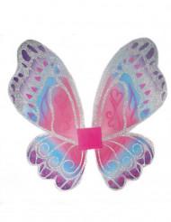 Schmetterlingsflügel Fee mit Glitter für Mädchen
