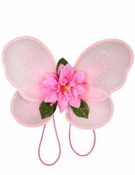 Feeprinzessin-Flügel für Mädchen rosa