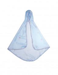 Umhang für Mädchen blau
