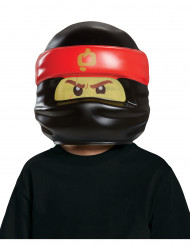 LEGO™ Ninjago™ Kindermaske Kai Lizenzware schwarz-rot