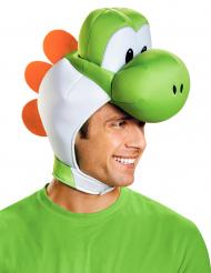Yoshi-Kopfbedeckung für Erwachsene Super Mario Nintendo®-Lizenzartikel grün-weiss-orange