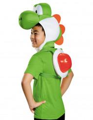 Yoshi™ Kostüm-Set für Kinder Nintendo™ Lizenzartikel grün-weiss-rot