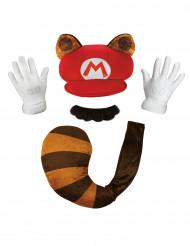 Waschbär Super Mario™ Verkleidungs-Set bunt