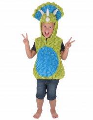 Dinosaurier-Kinderkostüm grün-blau