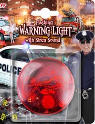 Warnleuchte mit Licht und Sound rot 7x4cm