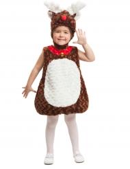Kostüm kleines Rentier für Kinder