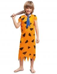Kostüm Steinzeitmensch für Jungen orange