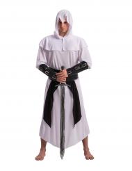 Kriegerkostüm Mittelalter-Kostüm weiss