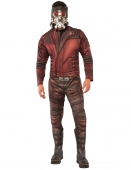 Star-Lord™-Kostüm Guardians of the Galaxy 2™-Lizenzkostüm rot-braun