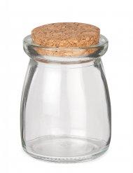 Korkenglas rund 5x8cm