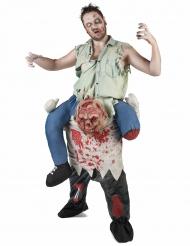 Carry Me Halloween-Herrenkostüm Zombie bunt