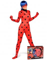 Ladybug-Damenkostüm Miraculous™-Lizenzkostüm rot-schwarz