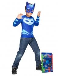 PJ Masks™-Kinderkostüm Catboy Lizenzkostüm blau