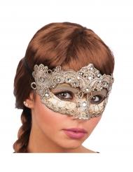 Barock-Maske für Damen gold