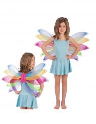 Feen-Flügel Schmetterlingsflügel für Kinder bunt