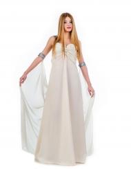 Kostüm weiße Prinzessin für Damen
