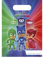 PJ Masks™-Geschenktüten Lizenzartikel 6 Stück grün-blau-rot 16,3x23cm