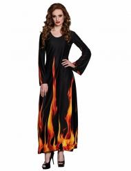 Höllische Teufelin Damenkostüm für Halloween