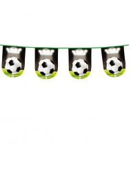 Fußball-Girlande Partydeko bunt 6m