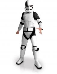 Executioner Stormtrooper™ Deluxe Kinderkostüm Star Wars VIII™ Lizenzartikel weiss-schwarz